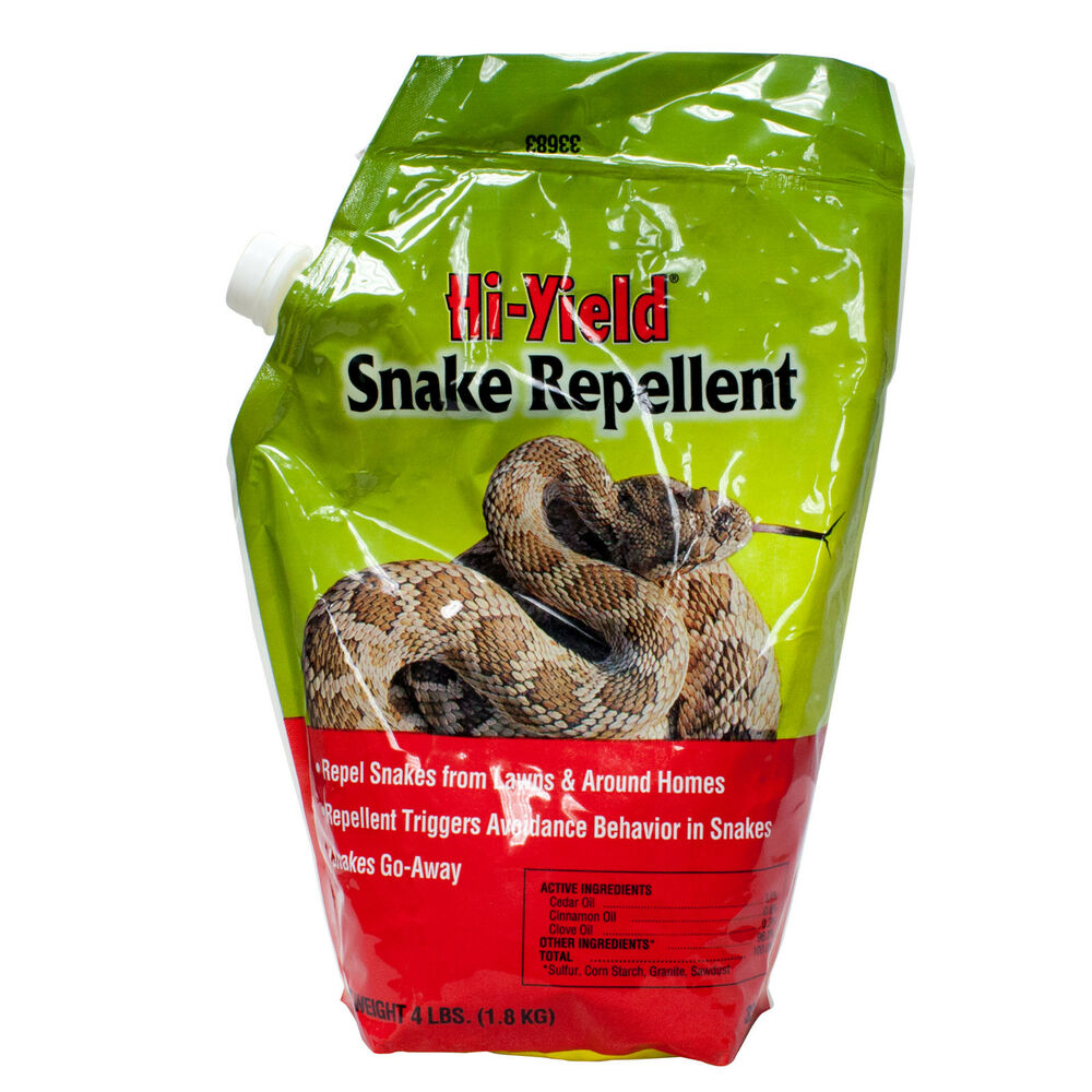 Snake Repellent 4 Lbs Repels Snakes From Lawns Yards