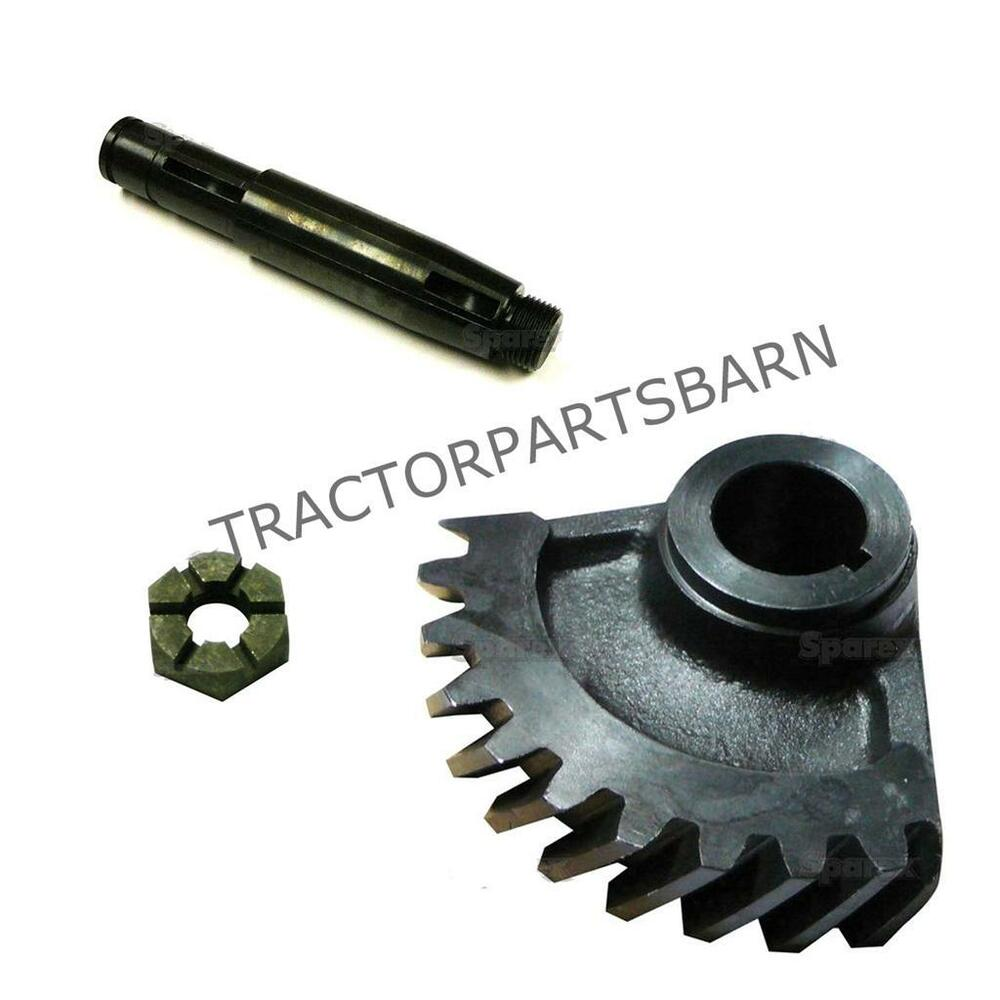 Ih Farmall 140 New Steering Worm Gear Shaft Nut 70889c1