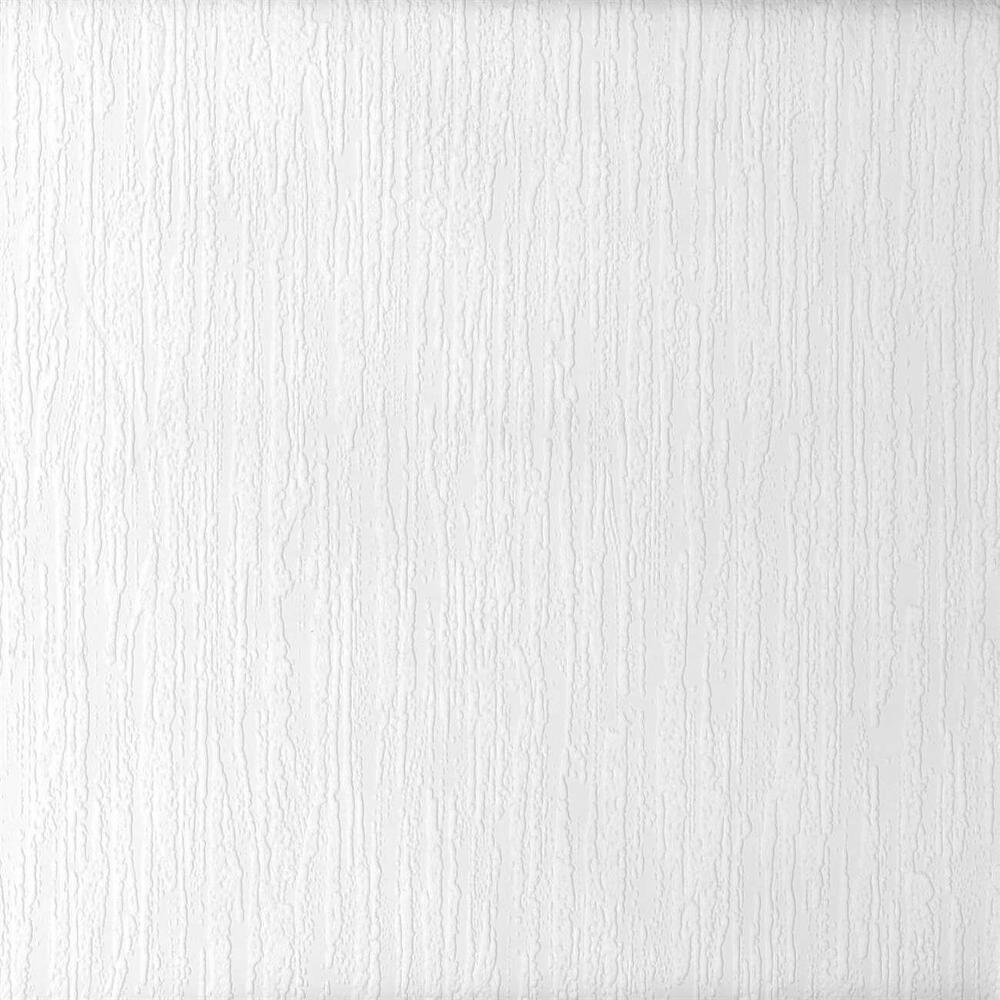 Cascade Raised White Textured Paintable Wallpaper 497