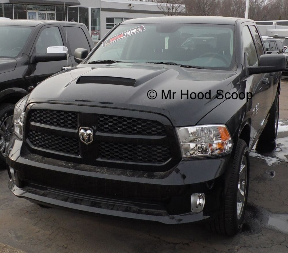 Dodge Ram 1500: Dodge Ram Hood Scoop Kit 1500 Factory Style By MRHoodScoop