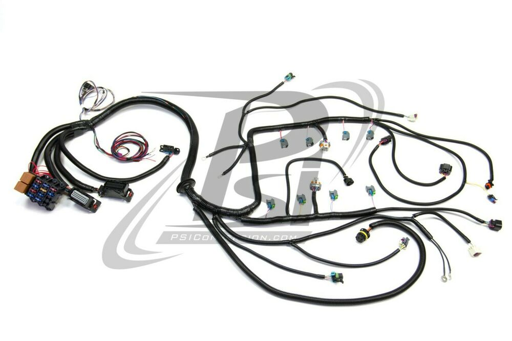 s l1000 ls3 wiring harness ebay O8 GMC Engine Wiring Harness at mifinder.co