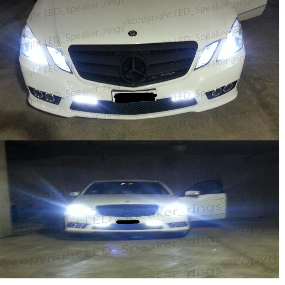 Kit Led H7 Headlight Bulbs Conversion Hid Fog Driving Light Bar Wiring Harness Switch Relay Alex Nld Mercedes Benz E Class W212 W211 Xenon Canbus Error Free Ebay