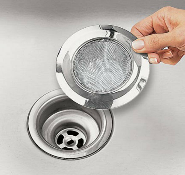 Kitchen sink strainer stainless steel sink strainer 4 1 for 2 kitchen sink drain