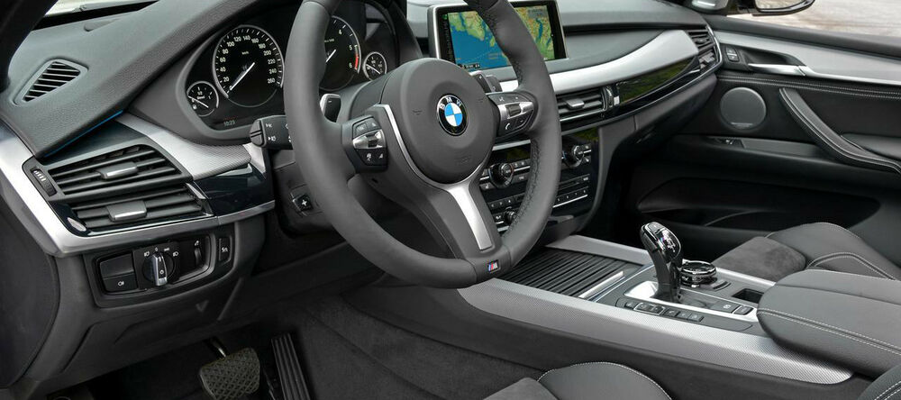 Bmw Brand Oem F15 X5 2014 Hexagon Aluminum Interior Trim Kit Oem 4mr Brand New Ebay