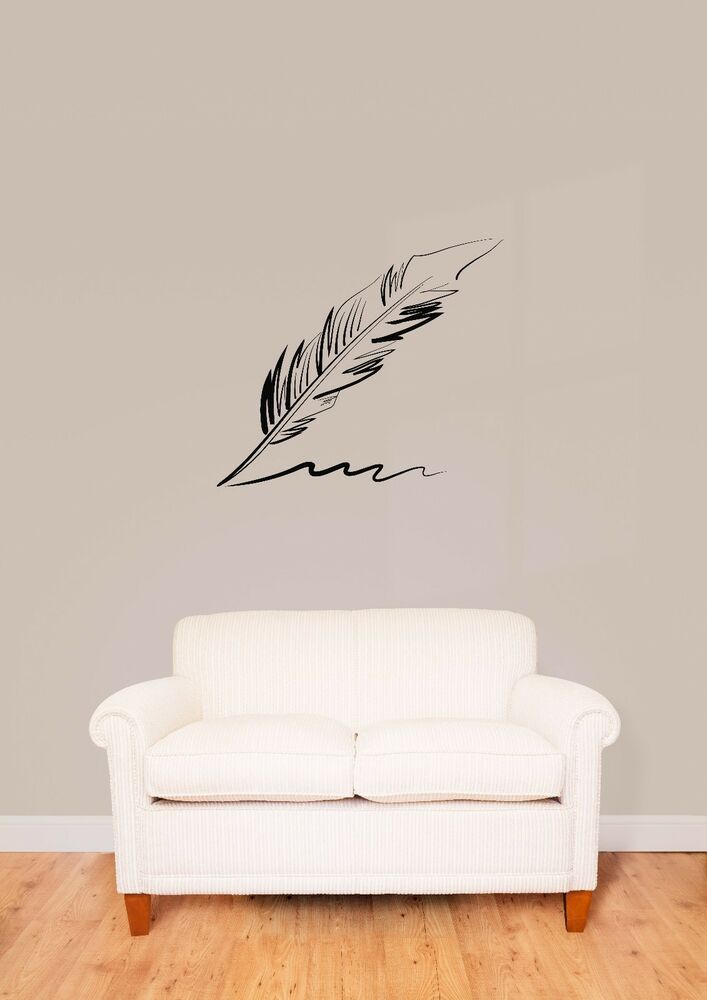 wall stickers vinyl decal pen writing cool decor z1595 25 best ideas about wall stickers on pinterest brick