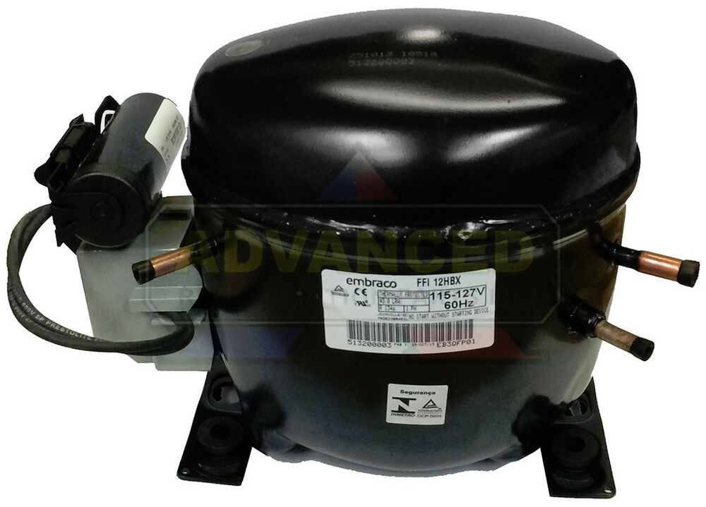 embraco ffi12hbx h high temp compressor 1 3 hp, r134a replaces Tecumseh Compressor Wiring Schematic details about embraco ffi12hbx h high temp compressor 1 3 hp, r134a replaces ae4440y aa1a