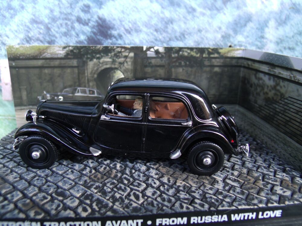 1 43 citroen traction avant james bond from russia with love 007 series diorama ebay. Black Bedroom Furniture Sets. Home Design Ideas