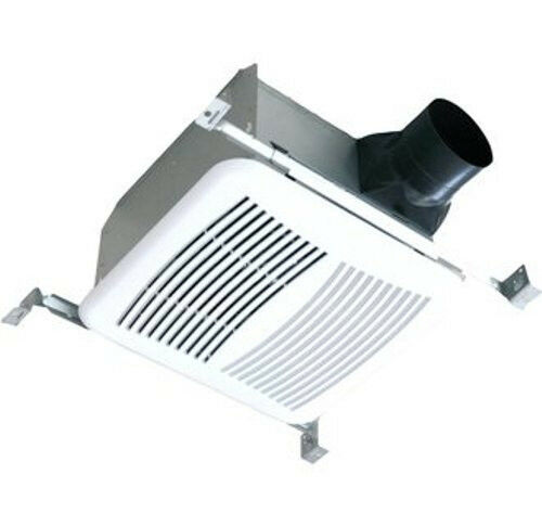 Bathroom exhaust fan with light and heater