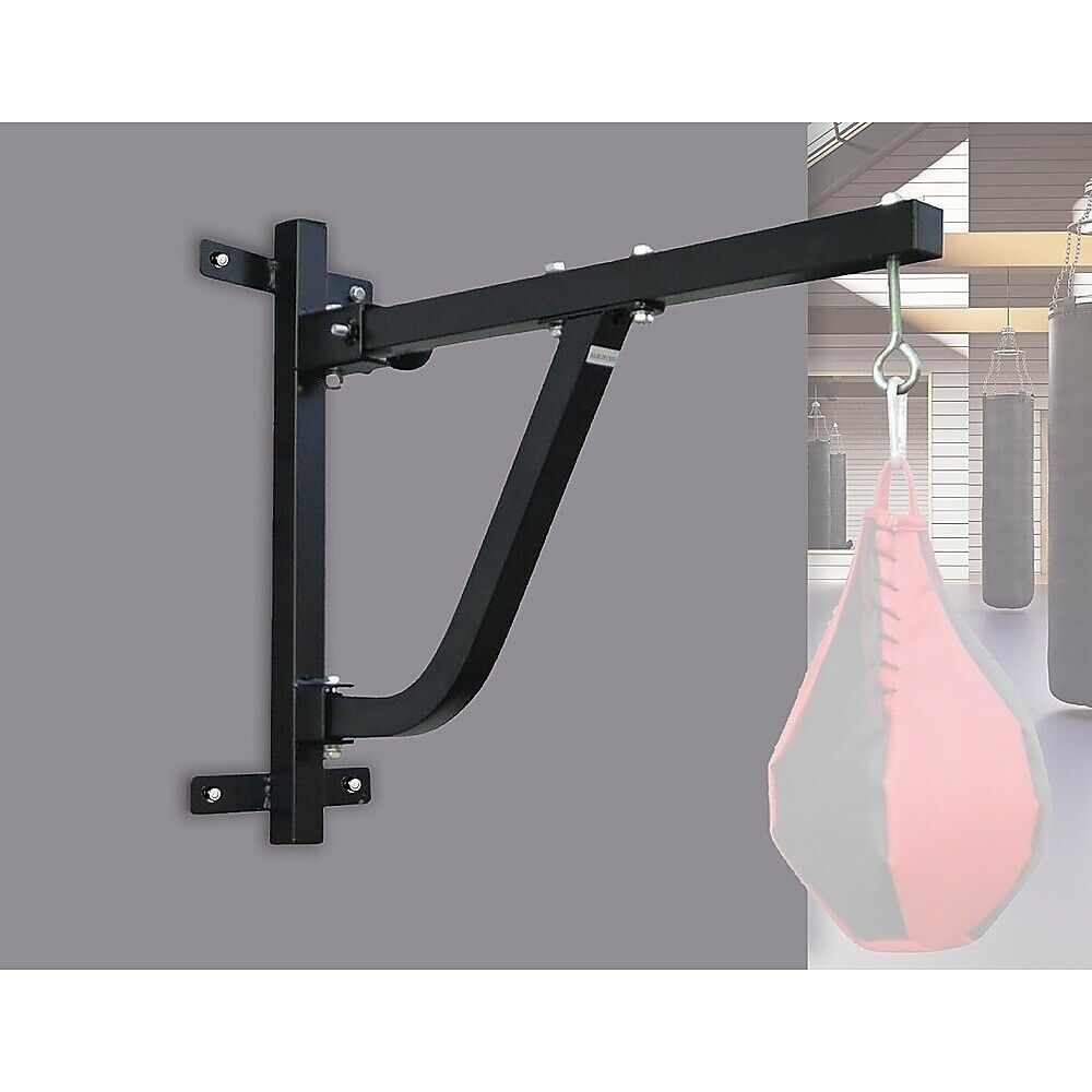 New Boxing Bag Wall Rack Stand Punch Punching Speed Gym
