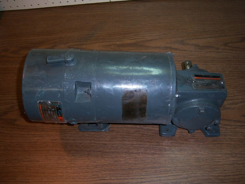 Reliance master xl gear motor 1 4hp 230v with duty master for Master electric gear motor