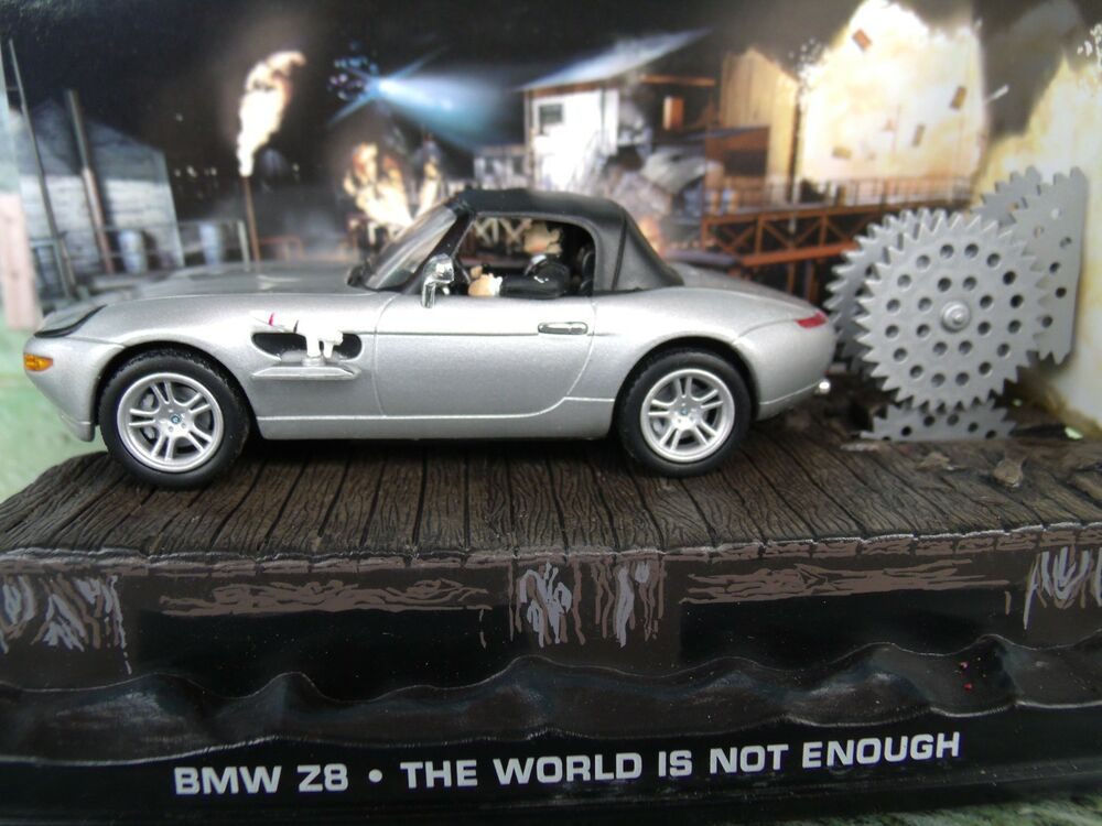 1 43 Bmw Z8 James Bond The World Is Not Enough 007 Series