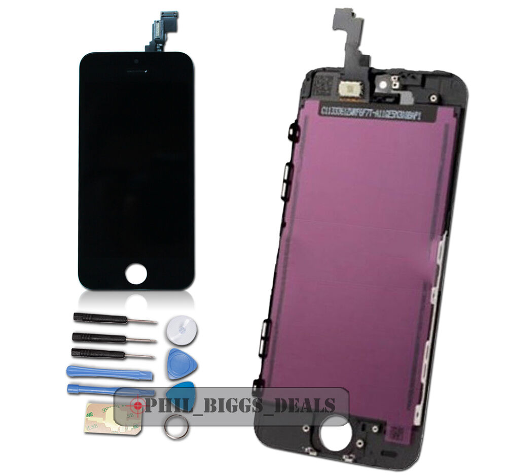 replacing iphone 5 screen for black iphone 5s lcd display digitizer touch screen 5275