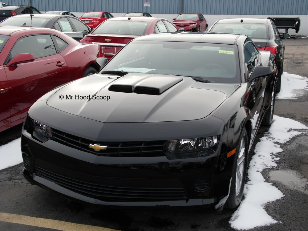 chevy camaro hood scoop by mrhoodscoop unpainted hs002 ebay. Black Bedroom Furniture Sets. Home Design Ideas