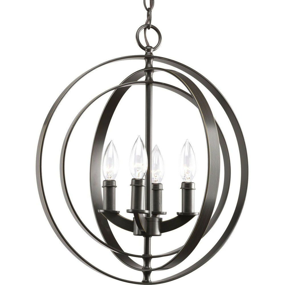Foyer Lighting Lantern : Progress lighting p light sphere foyer lantern