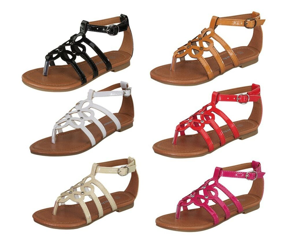 sacha-36k Kids Toddlers Youth Blink Cute Flats Sandals ...