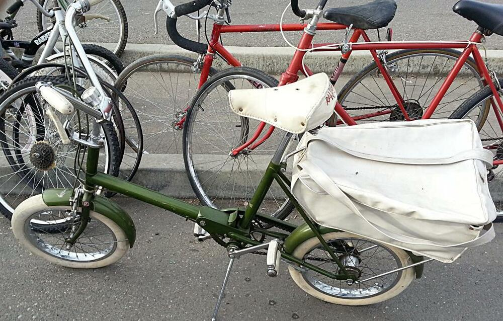 Rare 1960s England Raleigh Rsw Folding Bicycle 16 Quot Tires