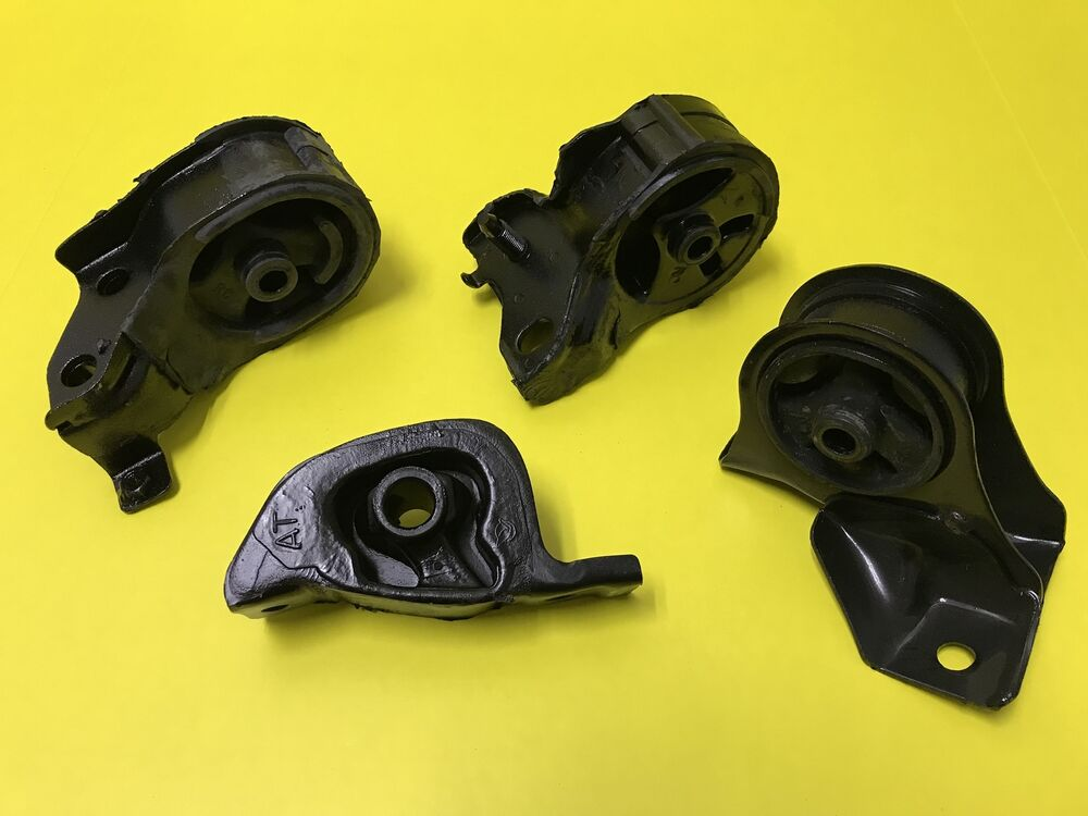 New honda civic 88 91 manual engine motor mount set mt for Honda civic motor mount replacement cost