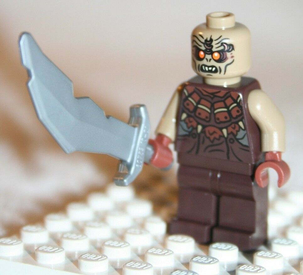 Lego Mordor Orc Sword Minifigure Lord Of The Rings Battle At Black Gate 79007 Ebay