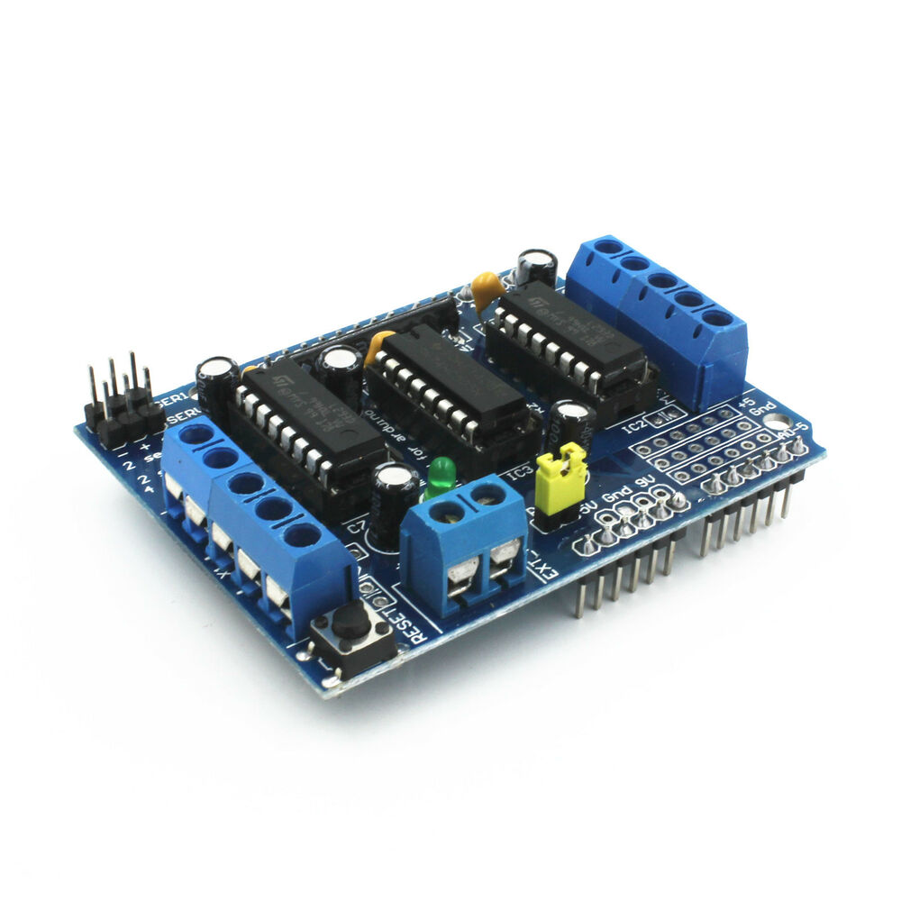 1 l293d motor drive shield expansion board for arduino duemilanove mega2560 ebay Arduino mega 2560 motor shield