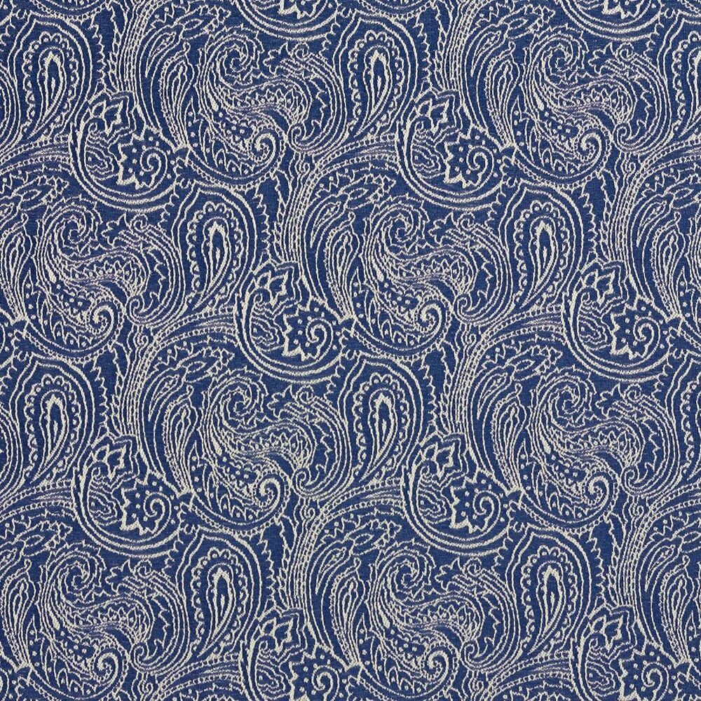 B627 navy blue paisley woven jacquard upholstery fabric for Jacquard fabric