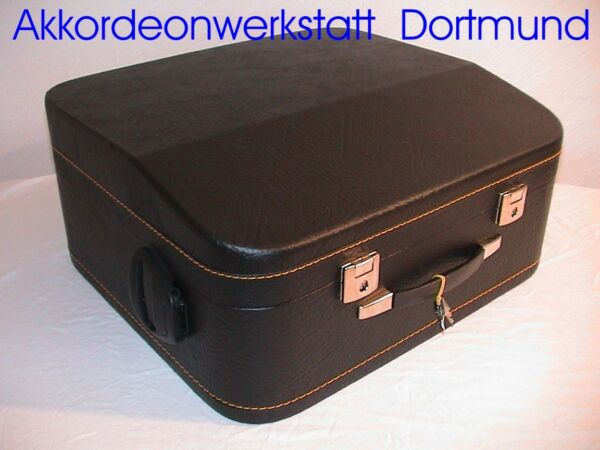 Akkordeonkoffer mit Rollen,  Accordion Case with Wheels,  72, 96, 120 - 185 Bass