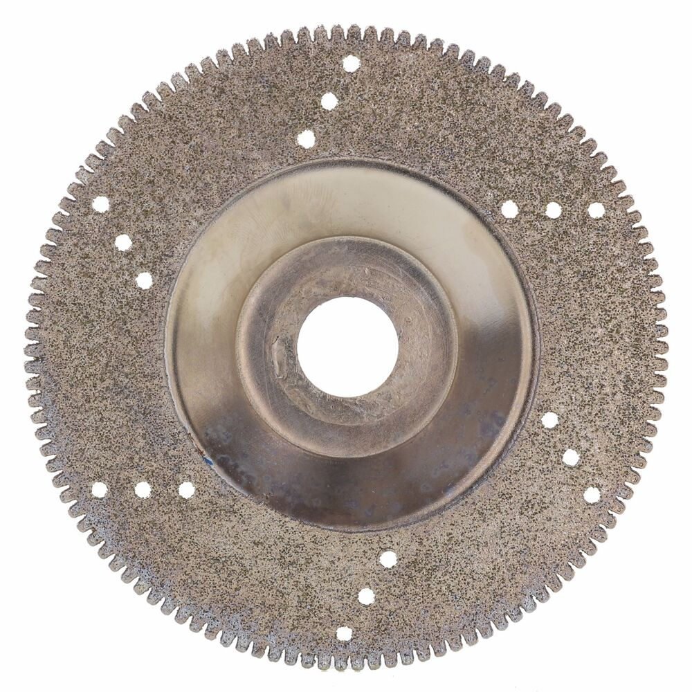 4 Quot Inch Diamond Coated Grinding Disc Wheel Serrated For
