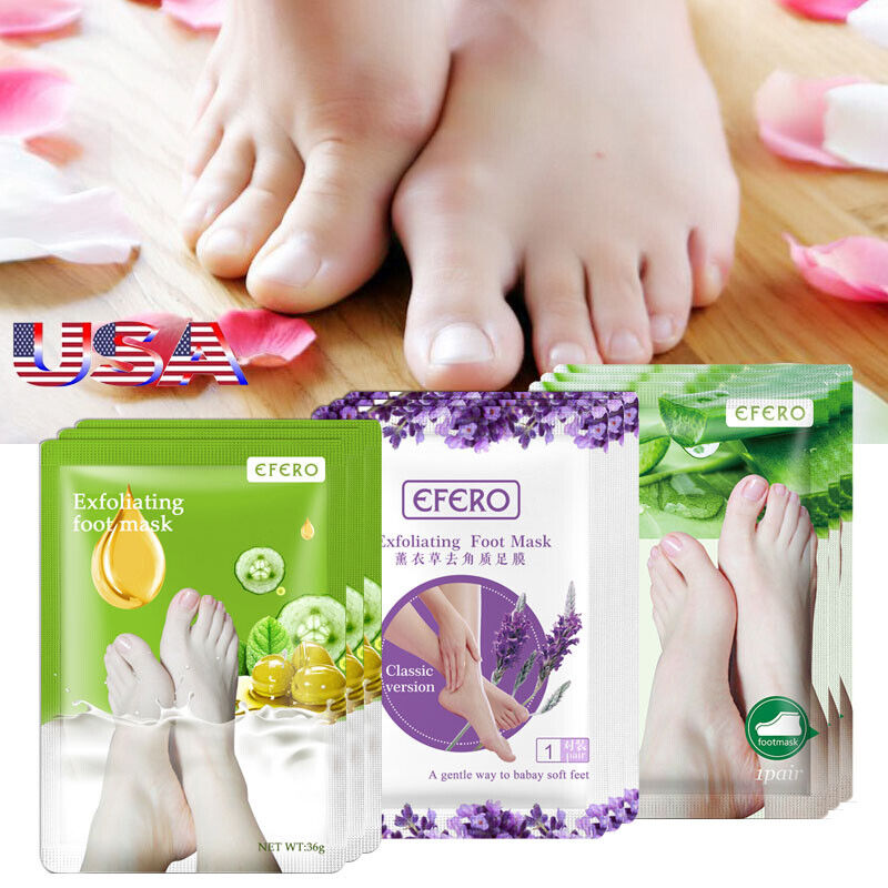 4pair lot super sosu baby foot care peeling mask renewal remove dead foot mask ebay. Black Bedroom Furniture Sets. Home Design Ideas
