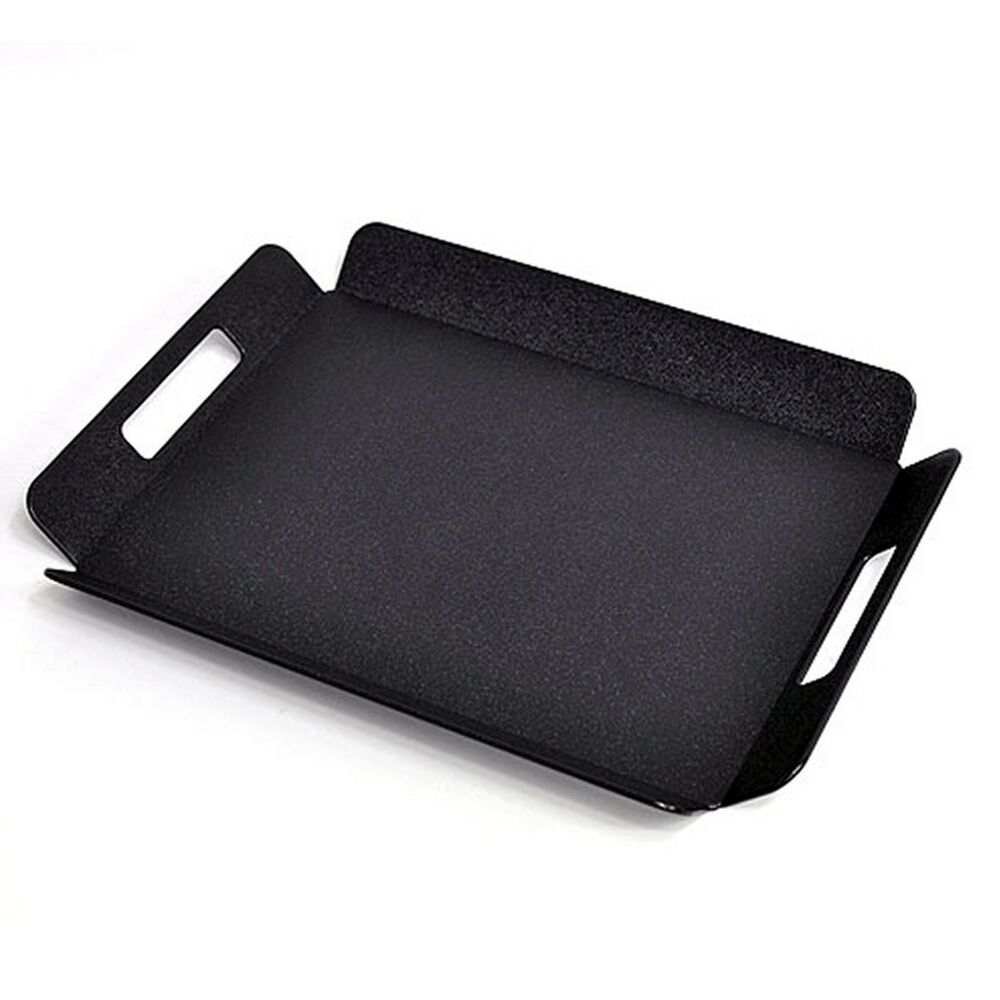 Black Plastic HIGH QUALITY DESIGN SERVING TRAY Food