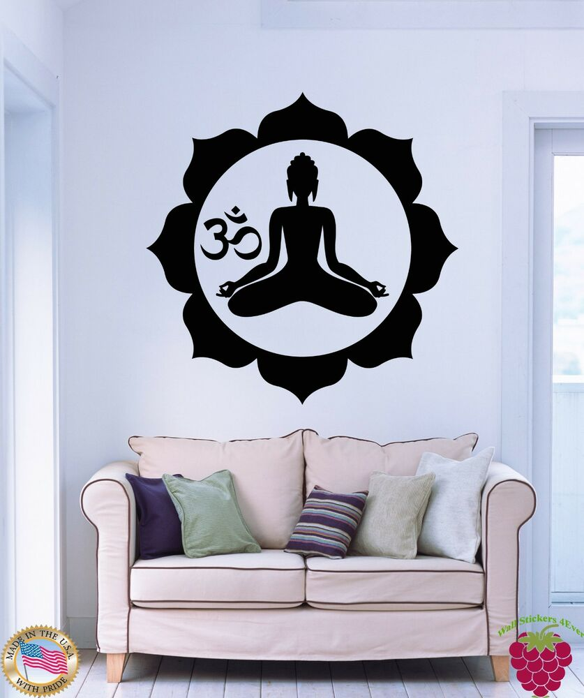 Wall Stickers Vinyl Decal Buddha Buddhism Zen Religion