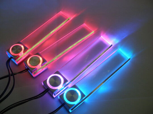 New 4pc 7 color led interior light kit for all cars w accent neon glow ebay for Interior accent lights for cars