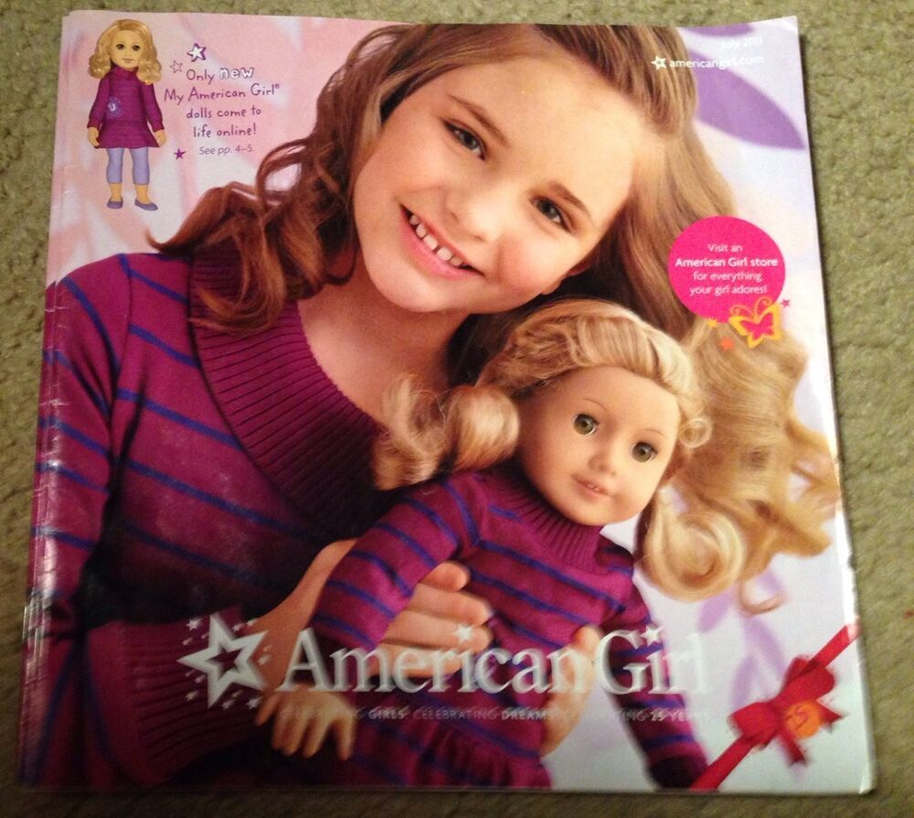 american girl 2011 catalog featuring 25th anniversary