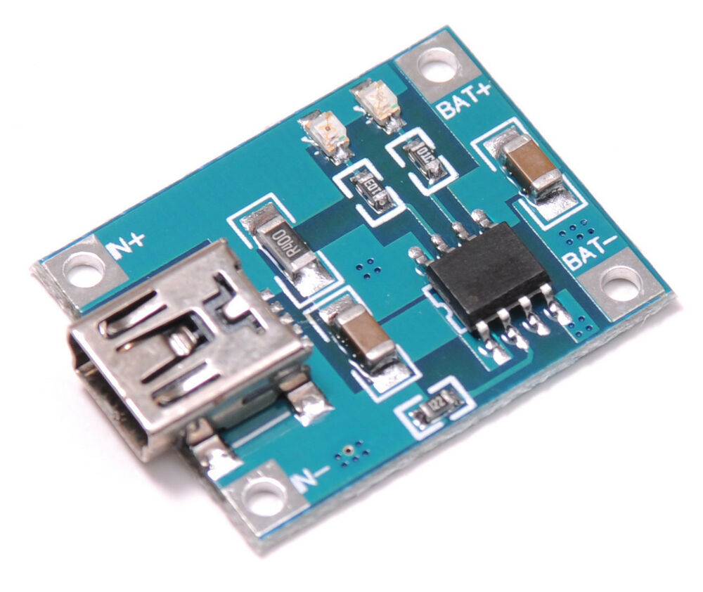 5v Lithium Battery Charging Tp4056 Board 5 Volt Mini Usb