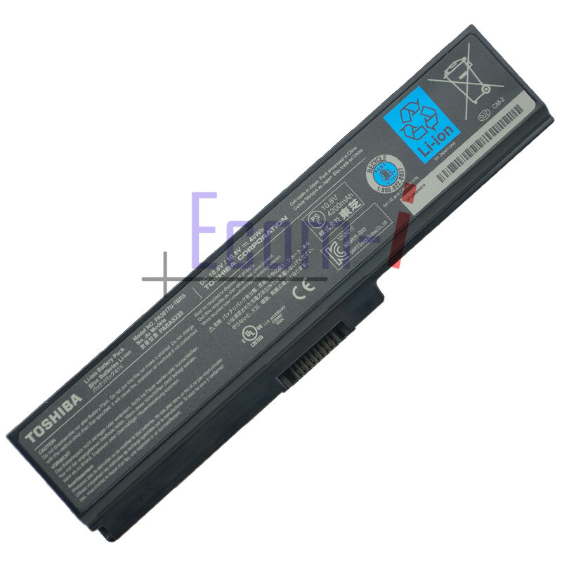 new genuine toshiba satellite a665 s5170 6cell battery for. Black Bedroom Furniture Sets. Home Design Ideas