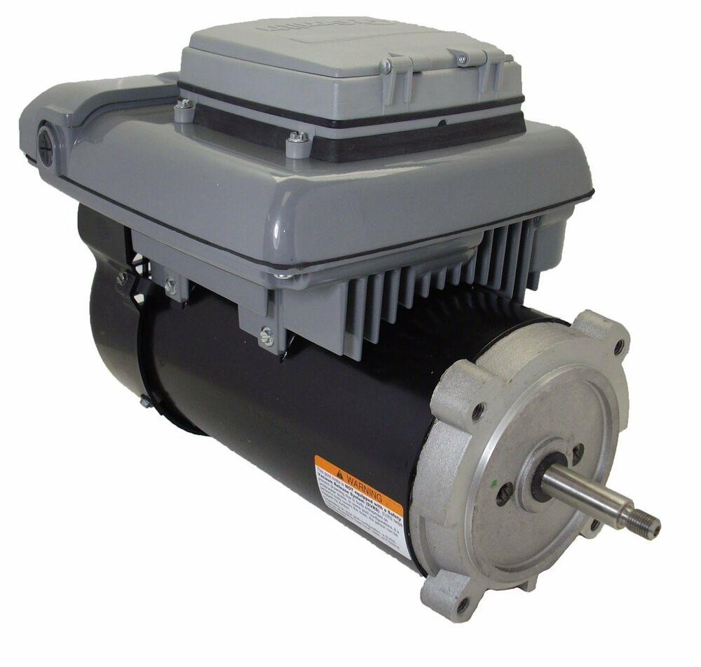 Variable speed ecm pool motor 3 4hp 2 spd 56j 230v century for Home depot pool pump motor