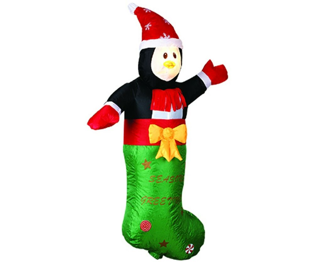 3.6 FT H Large Airblown Inflatable Little Man Christmas ...
