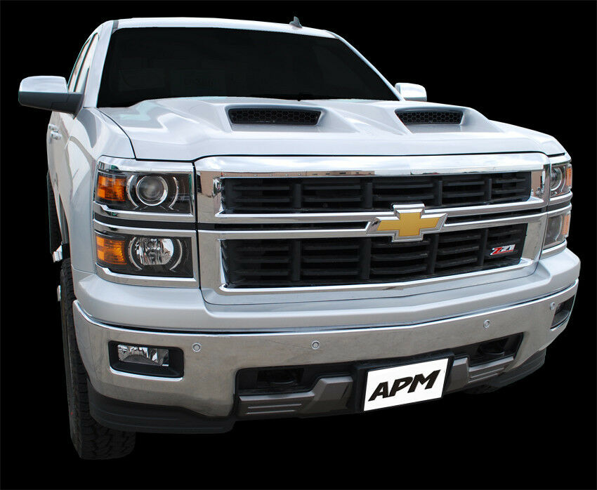 2014 2015 chevy silverado ram air power hood for 1500 series 811522 ebay. Black Bedroom Furniture Sets. Home Design Ideas
