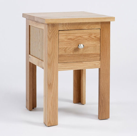 Lansdown oak lamp table light oak small side table solid oak coffee table ebay Light oak coffee tables