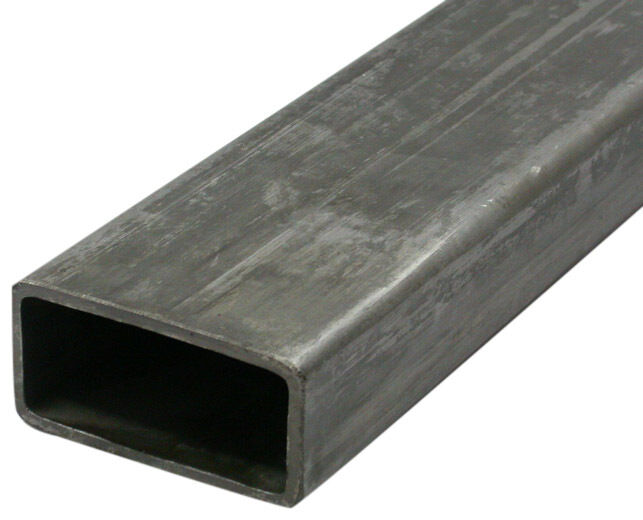 square metal tubing 4 quot x 6 quot x 250 quot rolled steel rectangular tubing 24 29434