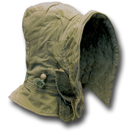 img-1 USED CIRCA 50s BRITISH ARMY COLD WEATHER COMBAT PARKA HOOD, LARGE [15007]
