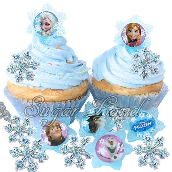 Disney Frozen Birthday Cake Toppers