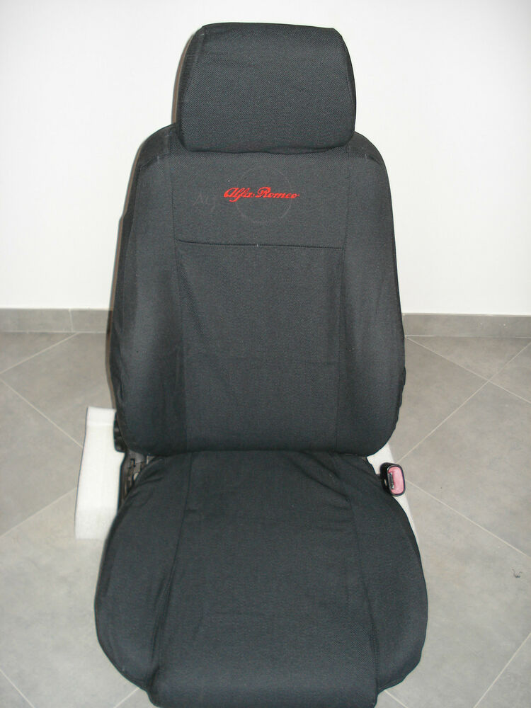 ALFA ROMEO 156 FRONT CAR SEAT COVERS GRAY EBay