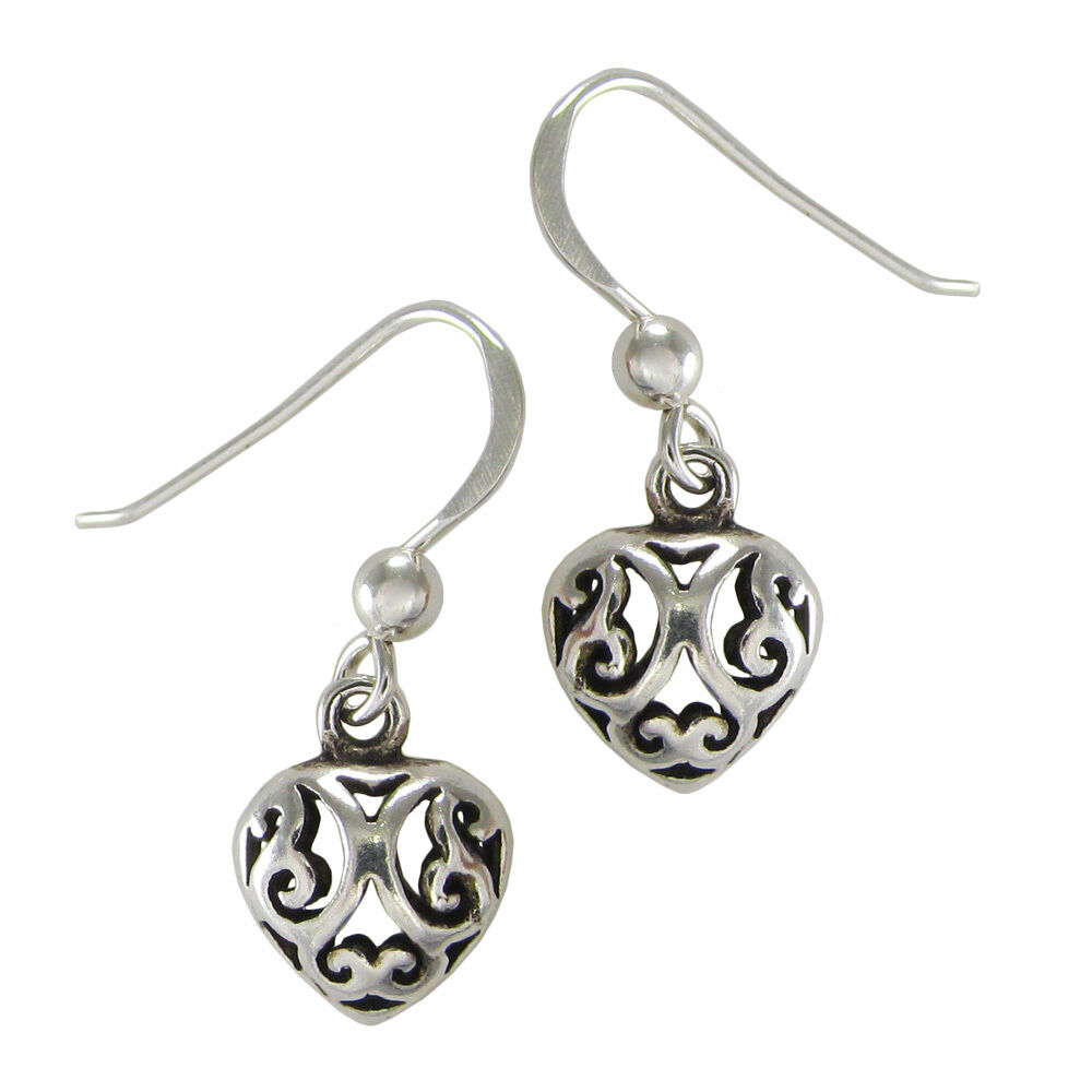 celtic knotwork earrings sterling silver celtic knotwork filigree dangle 6613
