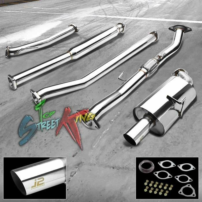 J2 For Nissan Altima 2 5 Stainless Steel Catback Exhaust