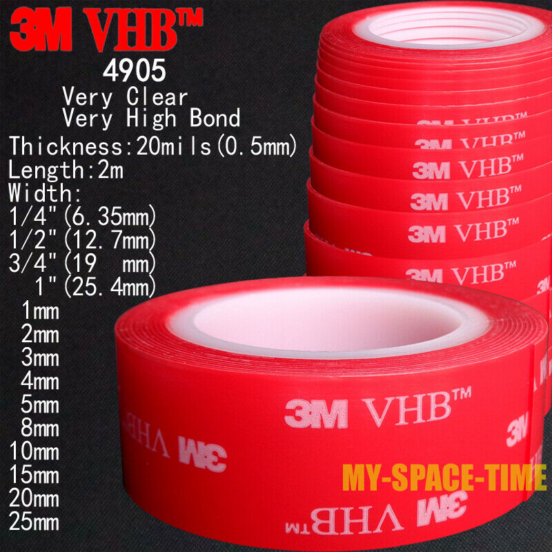 3m 1 2 Inch Double Sided Tape