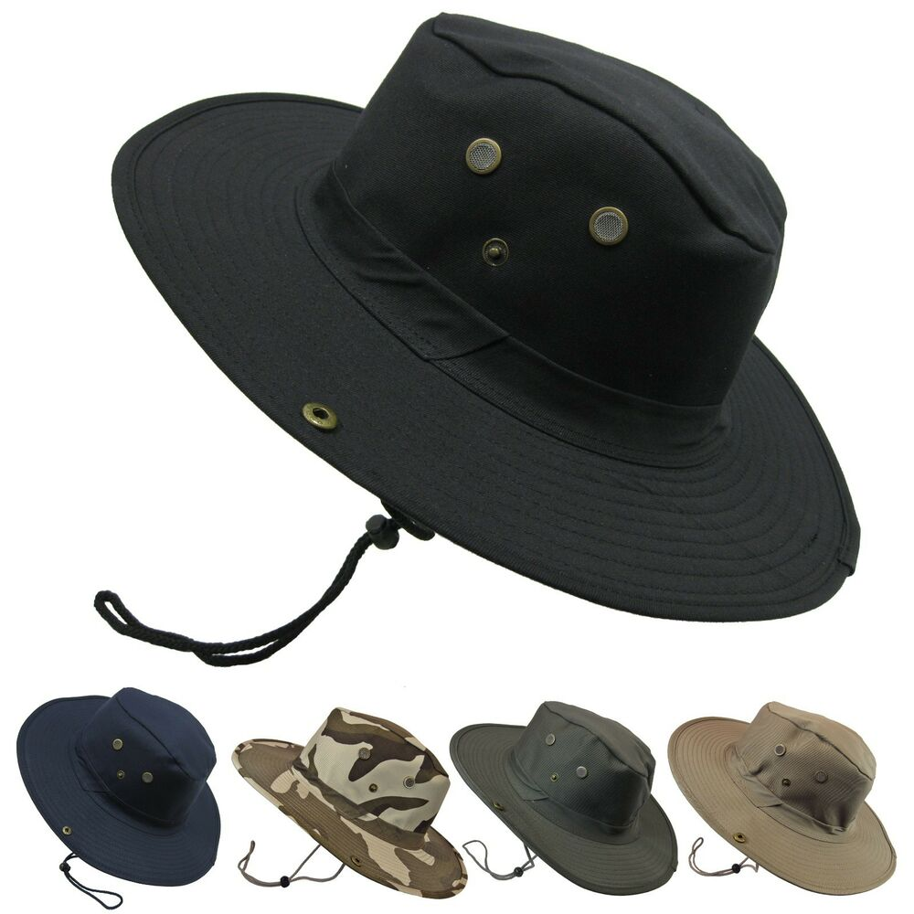 Boonie bush outdoor fishing hiking hunting boating snap for Fishing sun hat