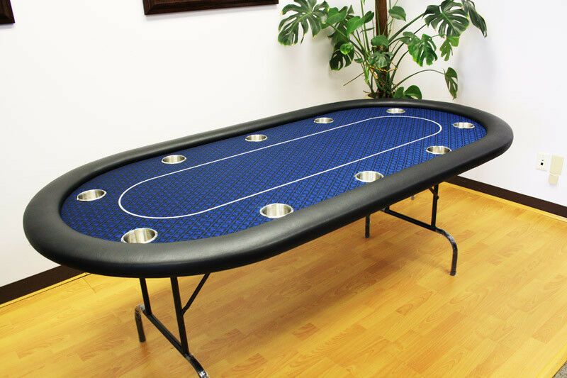 10 players 84 texas holdem poker table folding legs for 10 player poker table