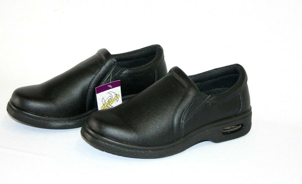 s black restaurant work shoes slip resistant sku