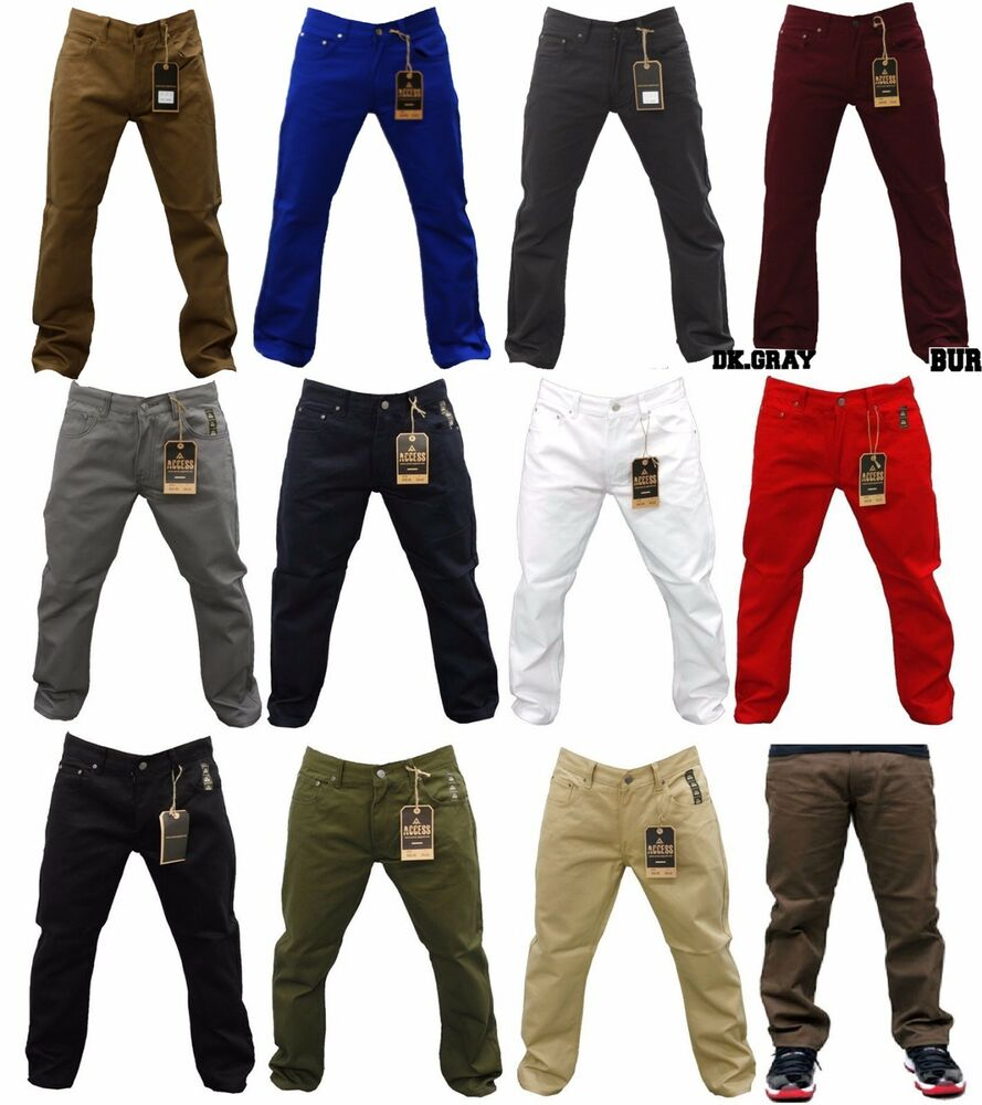 NWT MEN ACCESS SOLID COLORS OF JEANS LEVI'S STYLE JEANS