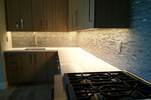 Kitchen Under Cabinet Waterproof Lighting Kit Warm White Soft Led Light Strip Ebay