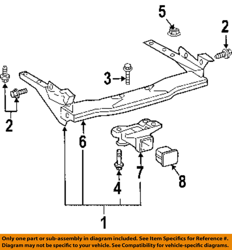 s l1000 toyota oem pt22834110 trailer hitch ebay Tow Wiring Harness 1993 F150 at creativeand.co